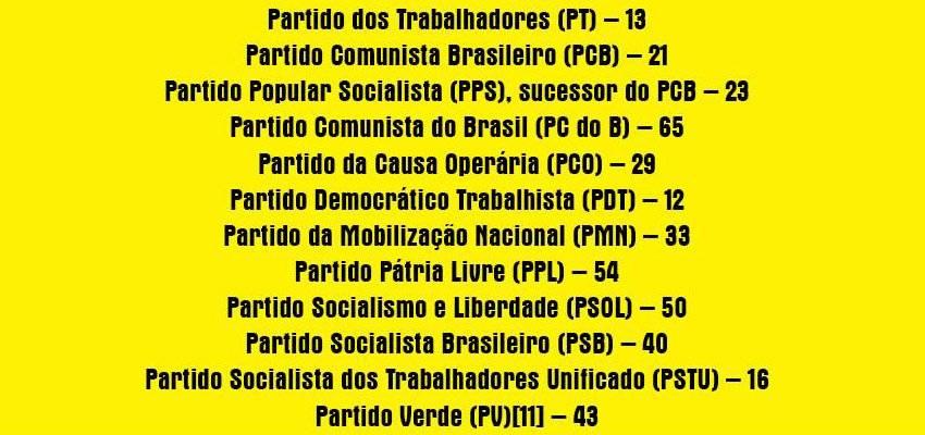 numero-dos-partidos-comunistas-do-brasil