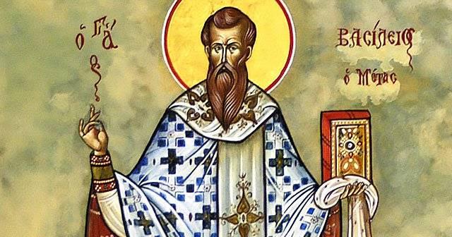 Santo do Dia – 02 de Janeiro – São Basílio Magno