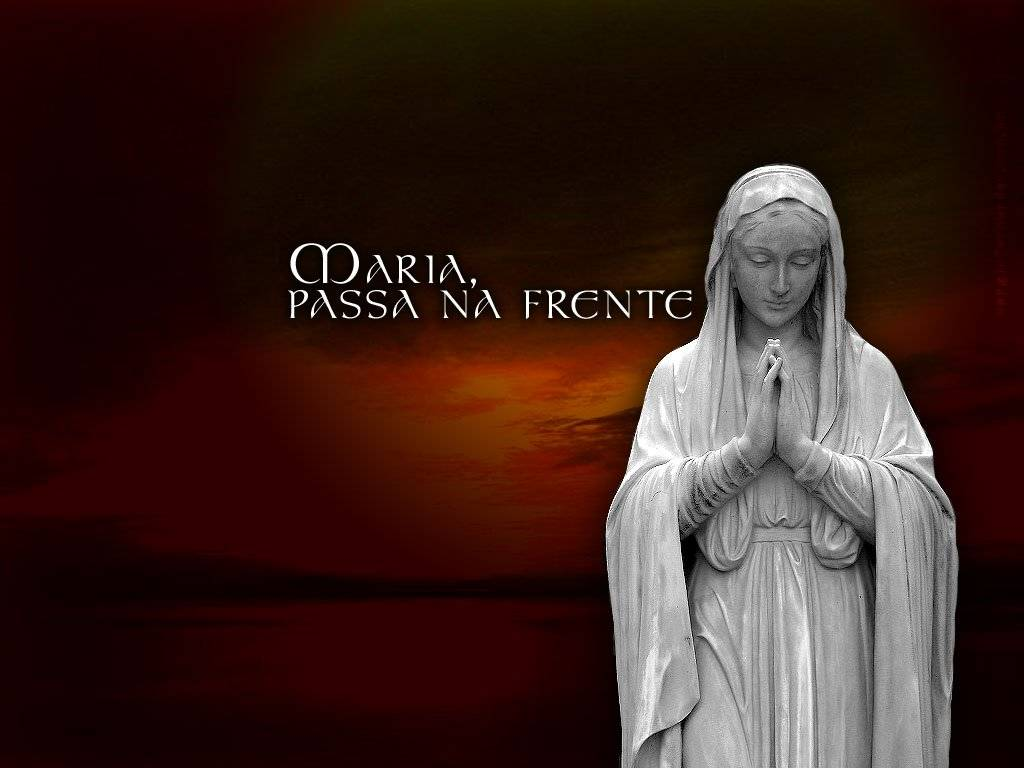 A Intercessão da Virgem Maria é necessária para nossa Salvação.