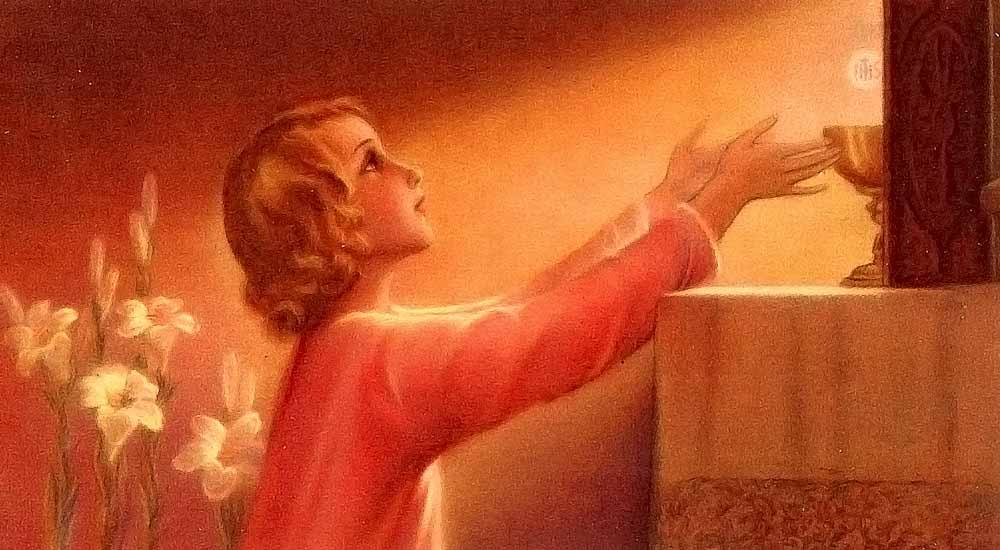 Oração para Comunhão Espiritual