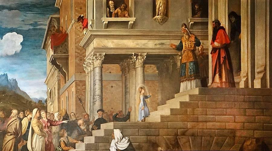 Santo do Dia – 21 de Novembro – Apresentação de Nossa Senhora