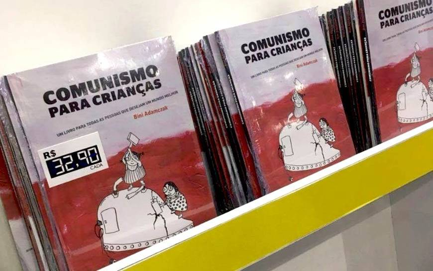 COMUNISMO PARA CRIANÇAS – TENTANDO ALIENAR NOSSOS FILHOS