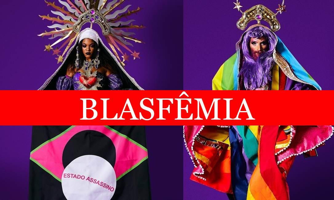 Blasfêmia: Carnaval 2020 terá Maria Madalena LGBT e Nossa Senhora de Luto em desfile
