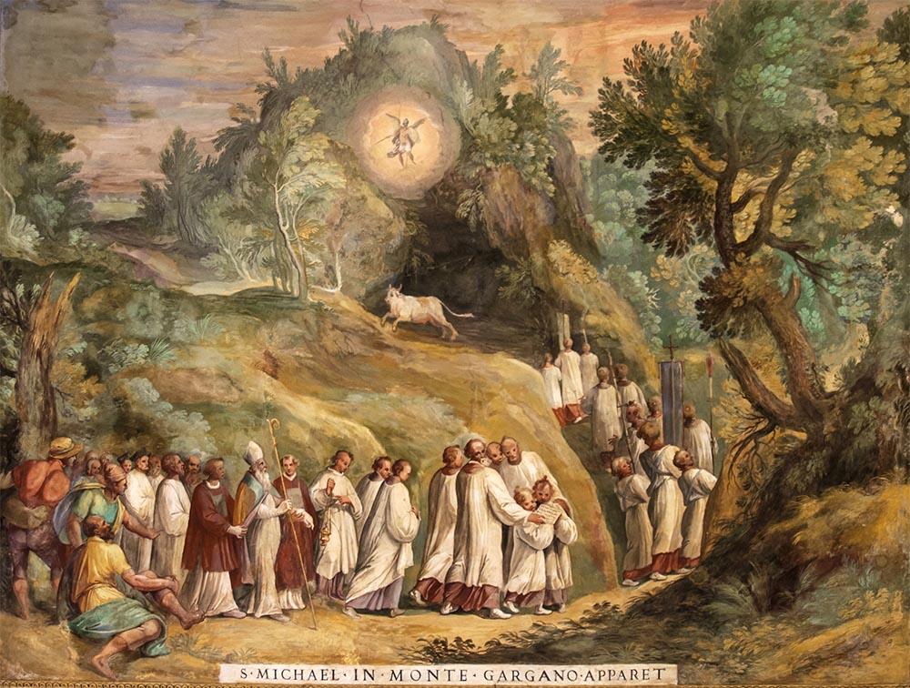 Aparição De São Miguel Arcanjo No Monte Gargano 8 De Maio